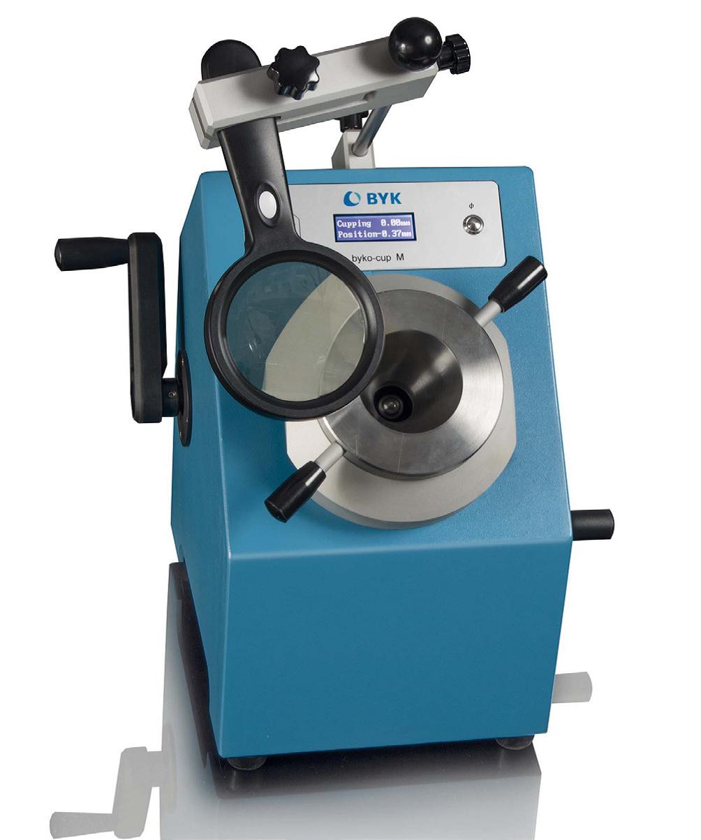 Mechaniczny tester tłoczności- byko-cup M 1