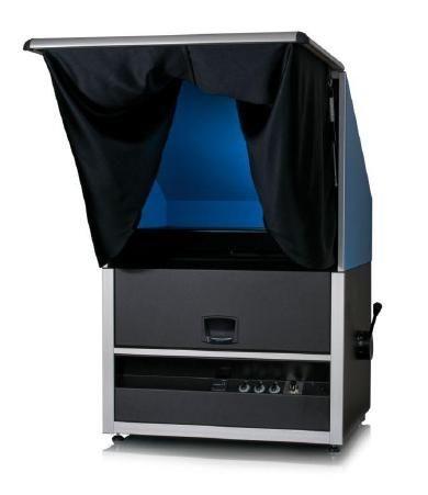 Byko-spectra effect kabina świetlna do wizualnej oceny barwy z efektem metalicznym 1