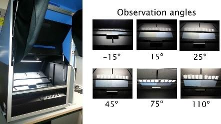 Byko-spectra effect kabina świetlna do wizualnej oceny barwy z efektem metalicznym 2