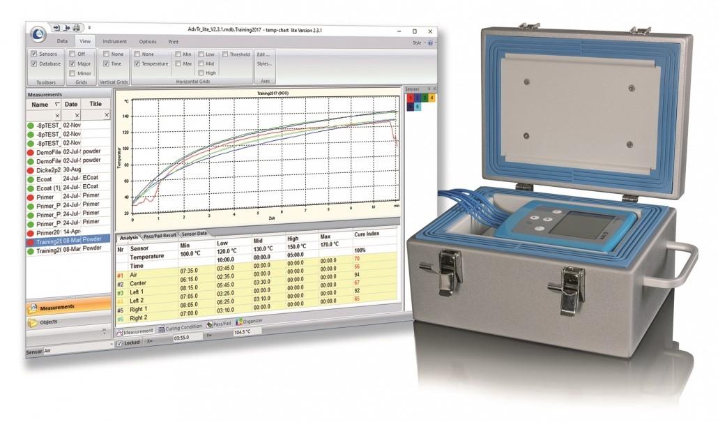 Systemy do rejestracji temperatury w piecach do 400° 2