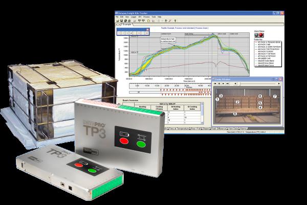 Systemy do rejestracji temperatury w piecach powyżej 400° 2